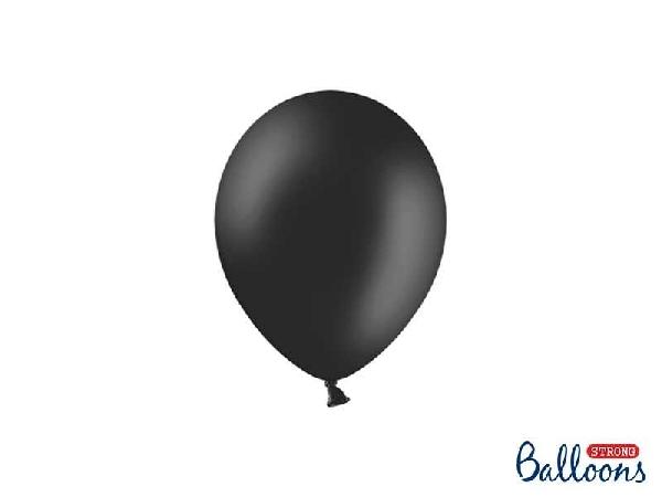 pasztel lufi 27 cm -010 fekete