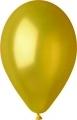 metál lufi 12 cm - 084 sárga