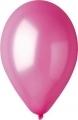 metál lufi 12 cm - 006 pink