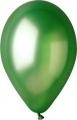 metál lufi 12 cm - 012b zöld