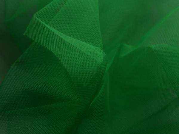 mezőzöld tüll dekoranyag (1,5 m széles)