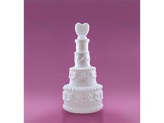 esküvői buborékfújó szívvel (24 db)