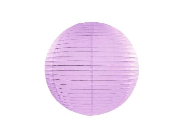 levendula papír lampion gömb 35 cm-es (002)