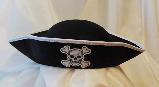 kalóz kalap textil (KPBOL-YH)
