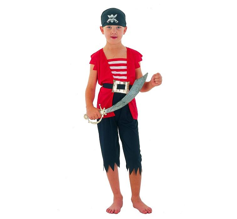 Kalóz gyerek farsangi jelmez (92-104 méret)-STPIM