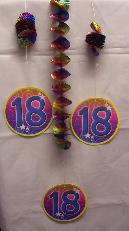3 részes spirálos függődísz 18.