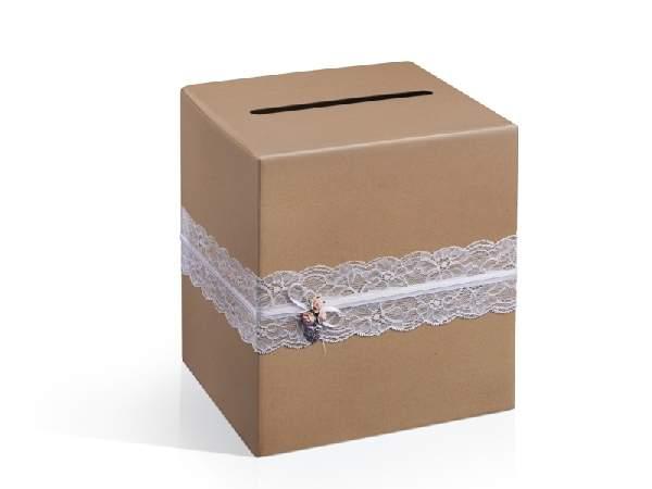 vintage nászajándék gyűjtő doboz (PUDTM2)