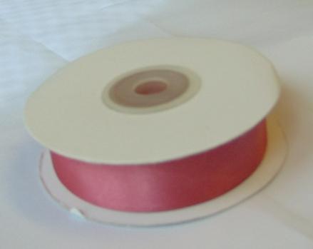 Szatén szalag vintage rózsaszín-(HS-493)- (2 cm *22 m)