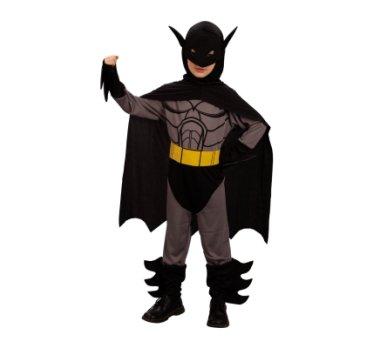 denevérember, Batman gyerek farsangi jelmez 120-130 méret -088761