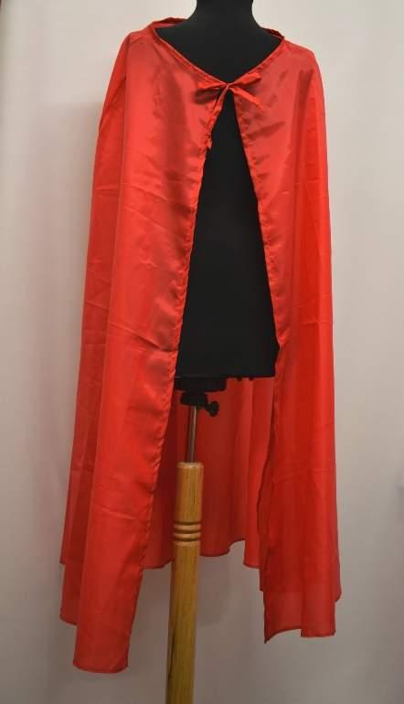 Piros köpeny (120 cm)