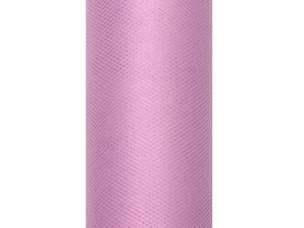 mályva tüll dekoranyag (15 cmx9 m)  puha-081p