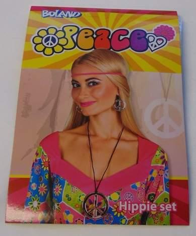 hippie szett (fülbevaló+nyaklánc)-44517