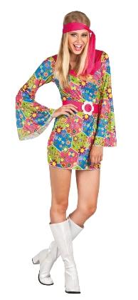 hippie női farsangi jelmez, M méret-83853