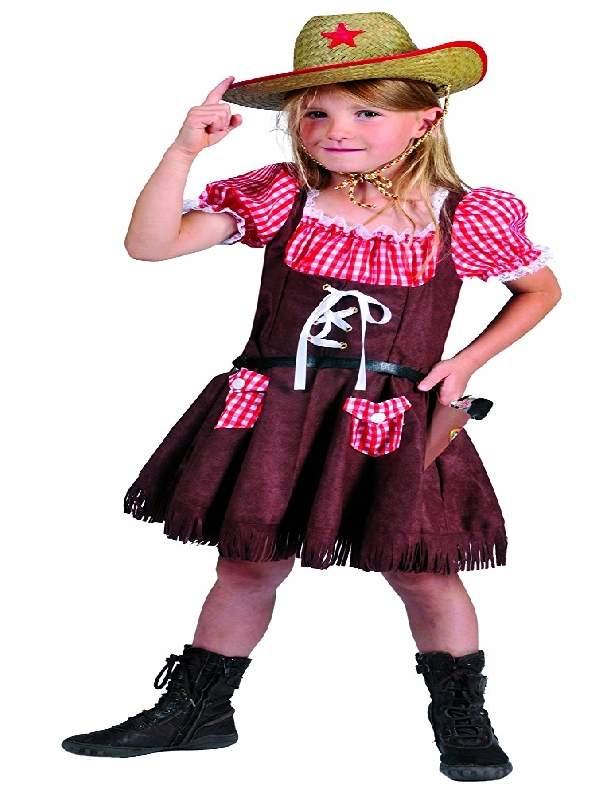 Cowgirl gyerek farsangi jelmez , 140 méret (E-402058)