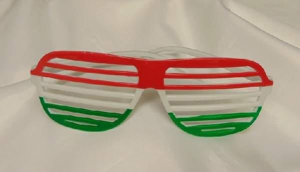 szurkoló party szemüveg