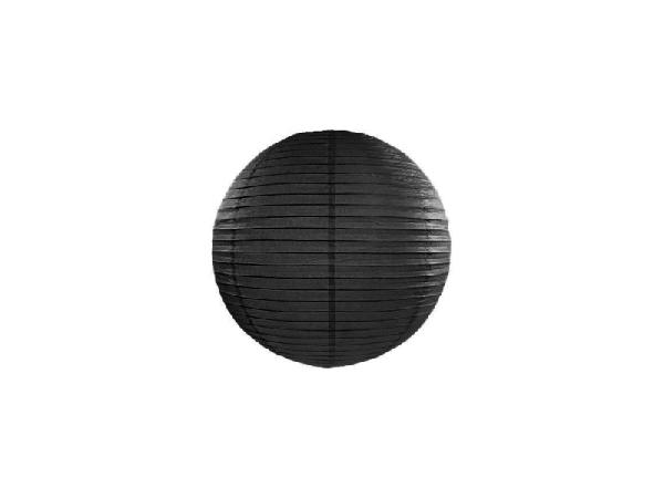 fekete papír lampion 30 cm-es