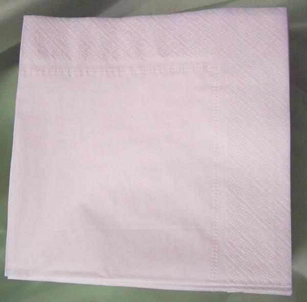 40*40 cm fehér szalvéta (50 db), 3 rétegű