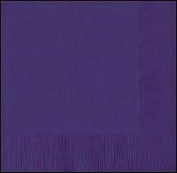 40*40 cm sötétlila szalvéta (50 db), 3 rétegű