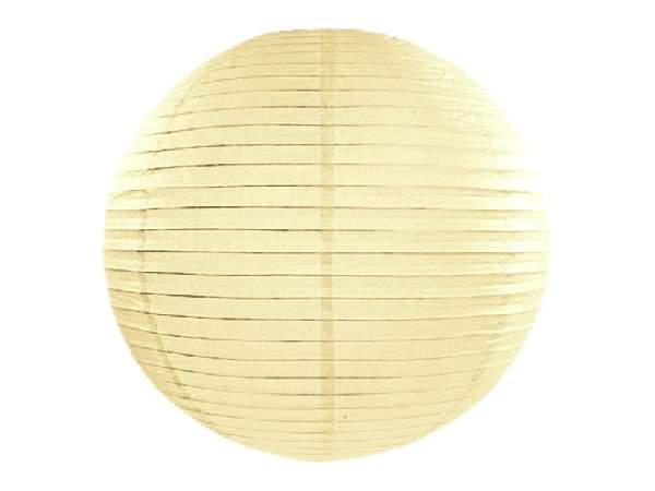 krém papír lampion 55 cm-es