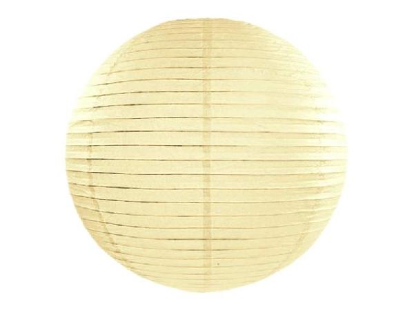 krém papír lampion 65 cm-es
