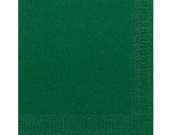 33*33 szalvéta, 3 rétegű (20 db/cs) sötétzöld-12b