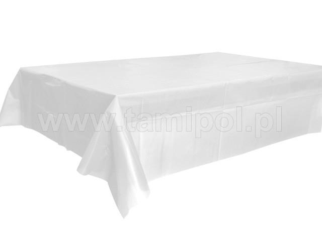 műanyag asztalterítő 100-120 cm, ,fehér