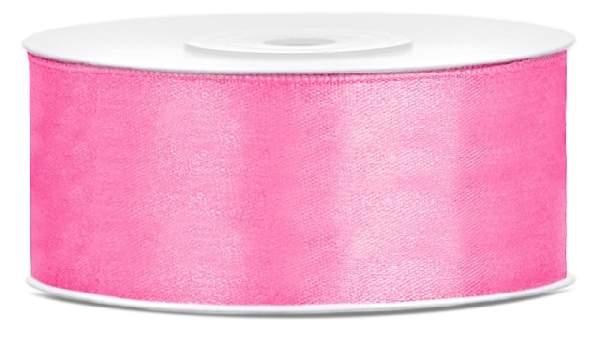 2,5 cm-s szatén szalag (25m) s.rózsaszín (081)
