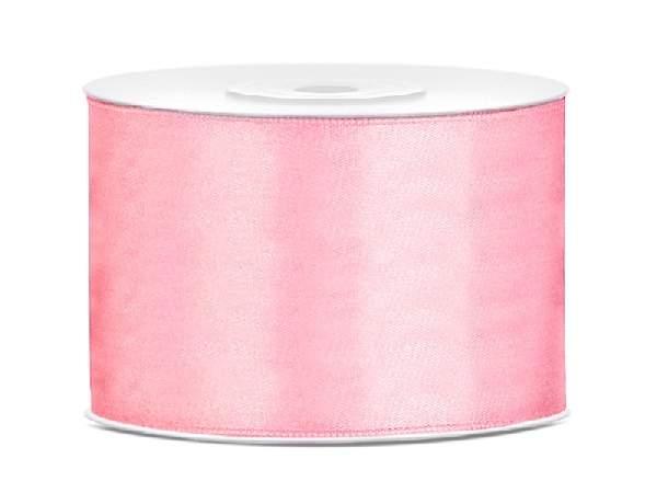 5 cm-s szatén szalag (25m) v.rózsaszín (081J)
