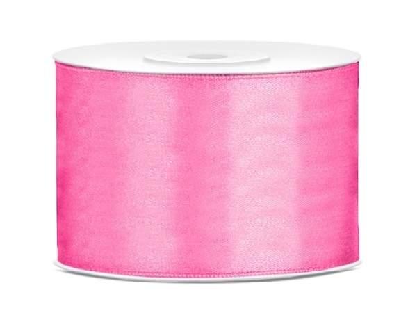 5 cm-s szatén szalag (25m) s.rózsaszín (081)