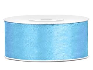 2,5 cm-s szatén szalag (25 m) v.kék(011)