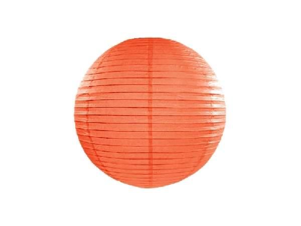 narancs papír lampion 35 cm-es