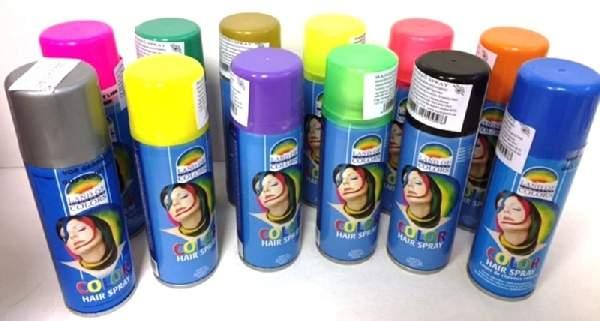 Hajszínező spray , fehér(125 ml)