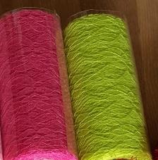 pink csipke dekoranyag (50 cm * 4,5 m)
