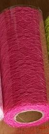 pink csipke dekoranyag  (15 cm * 9,1 m)