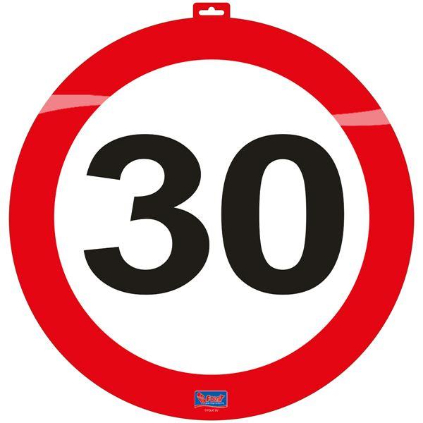 közlekedési tábla 30. (48 cm)