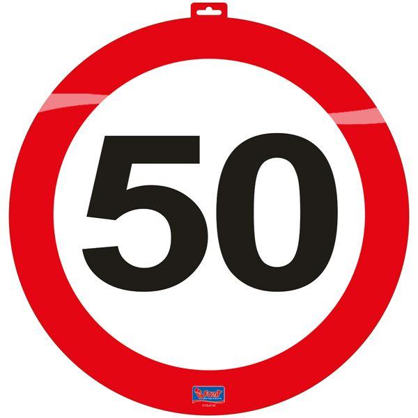 közlekedési tábla 50. (48 cm)