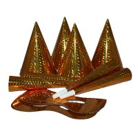 hologramos kalap arany (6 db)