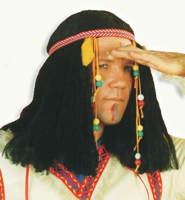 indián férfi paróka-35110