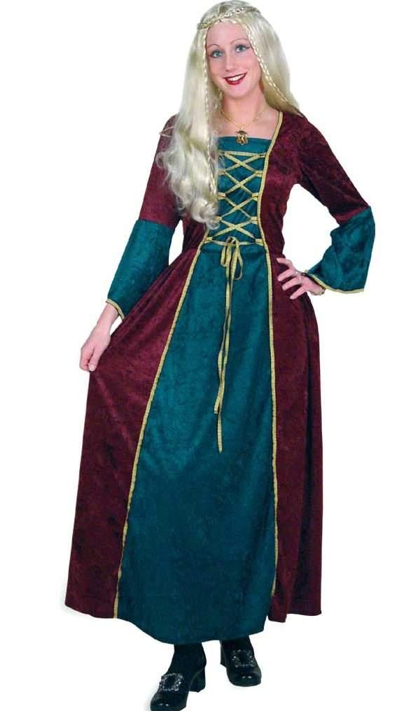 középkori női jelmez, 46 méret -235136