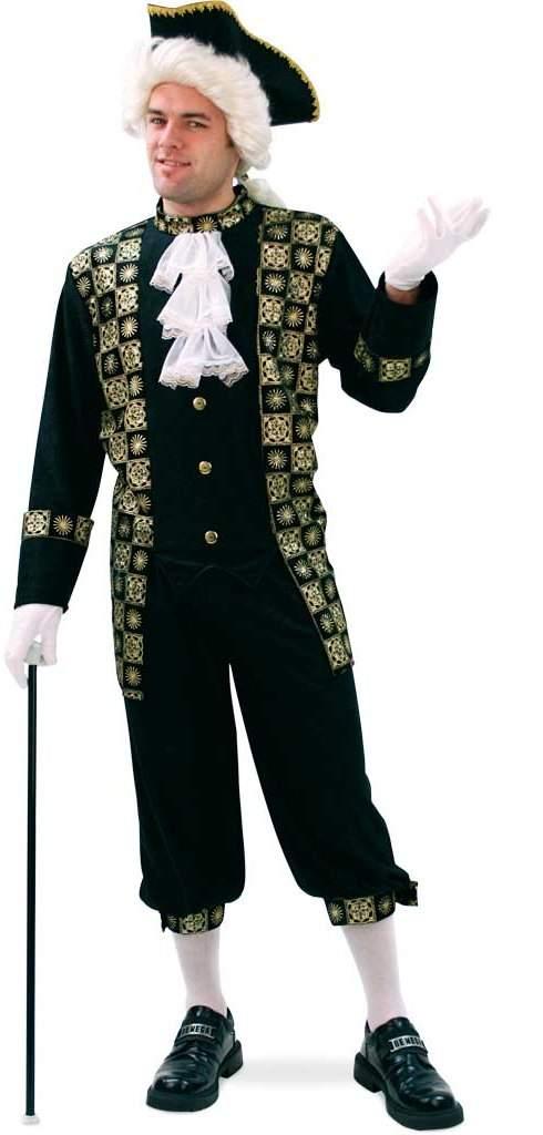 barokk férfi jelmez, 56 méret-29464