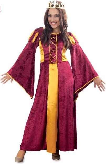 középkori női jelmez, 44 méret -106735