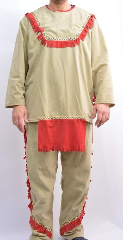 Indián, férfi farsangi jelmez (58 méret)-95933
