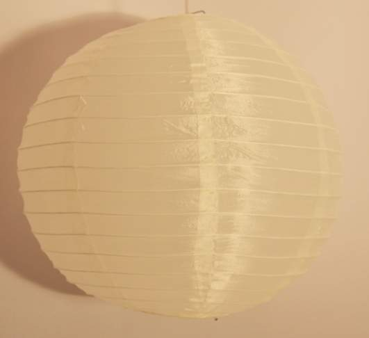 krém organza lampion (40 cm)