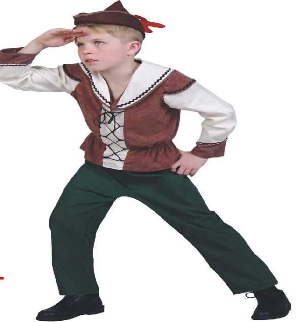 Robin Hood farsangi jelmez (140 méret) -21727
