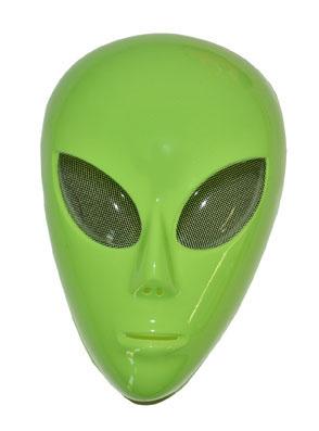 földönkívüli, alien álarc (61249)
