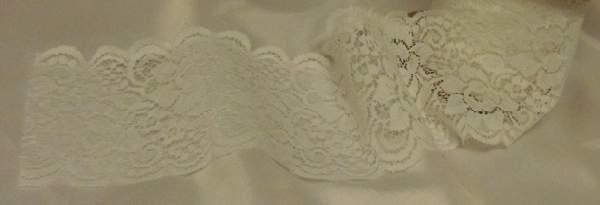 csipke szalag, fehér (8 cm*5 m)