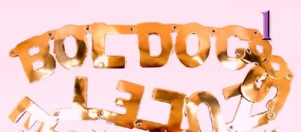 Boldog születésnapot felirat, fényes arany