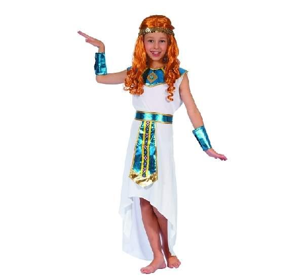 Egyiptomi , Kleopátra jelmez, fehér (120-130 méret)- 14527