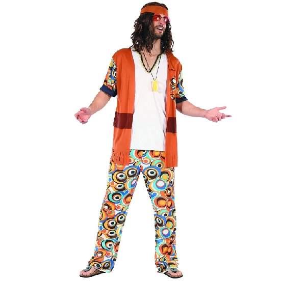 Hippie férfi jelmez (SDHIP-LUO)