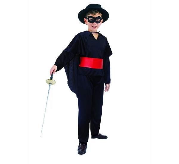 Zorro jelmez, 110-120 méret (SL-MS12)